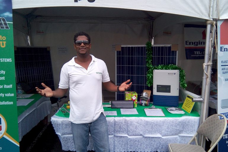 Sol-Lucian At North & South Energy Awareness Fairs